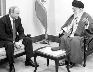 «С Россией можно сотрудничать в том, что касается действий, которые требуют решимости и настойчивости», – заключил аятолла Хаменеи после встречи с Путиным