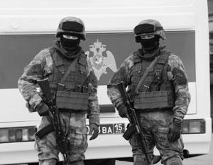 Путин предложил охранять губернаторов силами Росгвардии