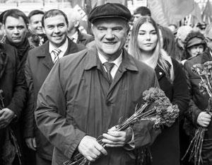 По мнению экспертов, Геннадий Зюганов бережет свое кресло председателя КПРФ для внука