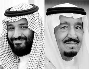 Мухаммед бен Салман (слева) является сыном действующего короля Салмана (справа). Для Саудовской Аравии это политик принципиально нового типа