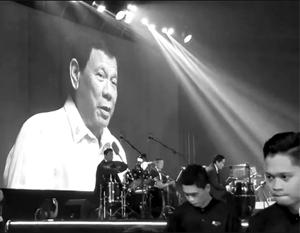 Президент Филиппин спел «по требованию» Трампа