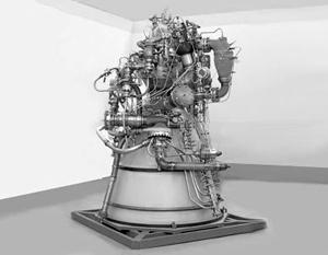 В России разработали эскиз метанового ракетного двигателя