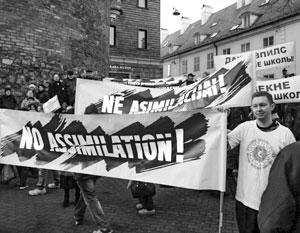 Главным лозунгом русской общины стало «Нет ассимиляции!»