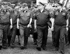 В свите министра обороны России военачальники с лишним весом встречаются все реже и реже