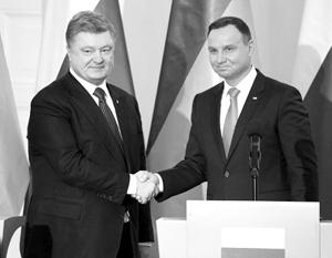 В администрации Дуды президента Украины назвали «Виктором Порошенко»