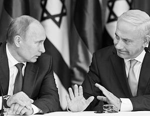 Нетаньяху заявил Путину о неприятии попыток Ирана закрепиться в Сирии