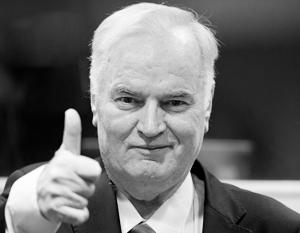 Ратко Младич сразу после оглашения приговора
