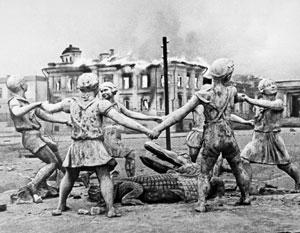 Одним из символов Сталинградской битвы стал фонтан «Бармалей»