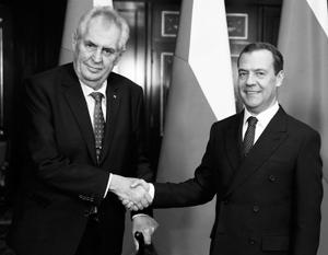 Это не такой приятный подарок, какими они обычно бывают», – заявил Земан Медведеву