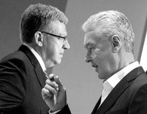 Мэр Москвы Сергей Собянин поддержал Алексея Кудрина на ОГФ