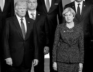 Мэй назвала действия Трампа «необыкновенным дипломатическим плевком между трансатлантическими союзниками»