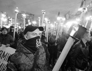 Политика: Бандеровской идеологии пригрозили «Нюрнбергским трибуналом»