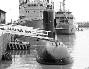 Аргентинские адмиралы крайне заинтересованы в том, чтобы версия «немецкого следа» в гибели лодки стала главной