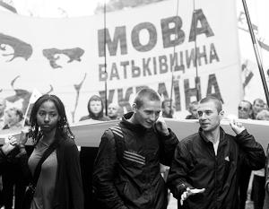 Мнения: За избавление от украинского языка придется платить