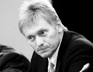Кремль отказался поднимать тему Крыма