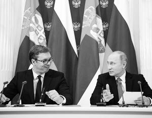 Военно-техническое сотрудничество Москвы и Белграда достигло беспрецедентного уровня