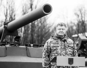 «Мной приняты решения об усилении нашей группировки на востоке», – заявил Порошенко