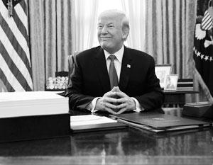 «Мы стоим на пороге нового экономического чуда», – заявил Трамп