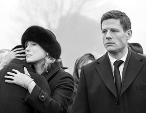 Мария Шукшина и Джеймс Нортон сыграли мафиозную русско-еврейскую семью в британском сериале «МакМафия»