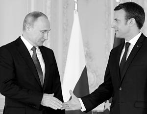 Макрон и Путин встретятся в этом году не один раз