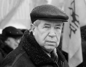 Умер лидер движения «Трудовая Россия» Виктор Анпилов