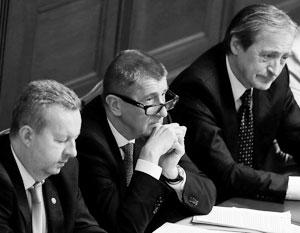 Парламент Чехии отказал в доверии кабмину «пророссийского» премьера