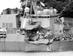 Командирам попавших в аварии эсминцев ВМС США предъявлены обвинения