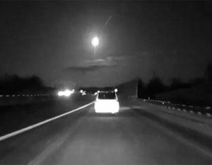 В окрестностях Детройта упал метеорит