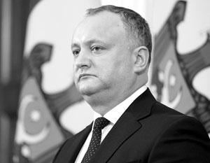 Додон предостерег Молдавию от выхода из СНГ
