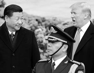 Трамп не исключил торговой войны с Китаем