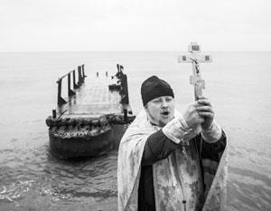 Православные священники на Крещение освятят Мировой океан