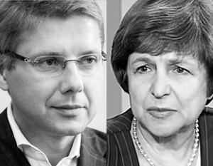 Нила Ушакова русские Латвии называют «коллаборационистом», Татьяну Жданок – «новой надеждой»