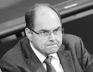 Немецкий министр призвал Россию отменить продуктовое эмбарго