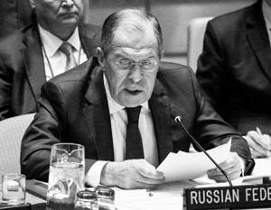 Риск распространения химического терроризма за пределы Ближнего Востока реален, предупредил Лавров