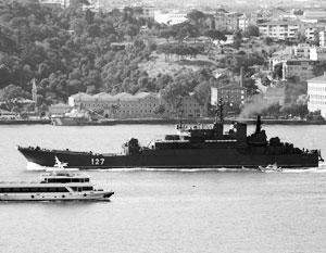 В 2017 году боевые надводные корабли основных классов ВМФ РФ совершили 46 визитов и заходов в 28 портов 27 иностранных государств