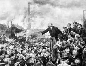 Первоначально Ленин всеми силами противился национализации