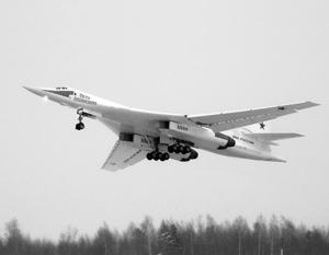 «Красавец!» – оценил глава государства полет Ту-160М, самого  большого самолета в мире с изменяемой геометрией крыла