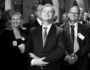 Действующий президент Финляндии Саули Вяйнямё Ниинистё одержал победу на выборах сразу в первом туре