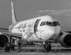 Первый со времен Советского Союза магистральный самолет МС-21 поднялся в небо в мае 2017 года