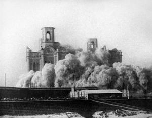 Уничтожение храма Христа Спасителя