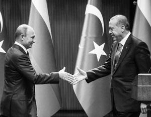 Путин и Эрдоган ведут диалог уже 15 лет