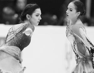 Российские фигуристы гарантировали себе серебро командного турнира Олимпиады