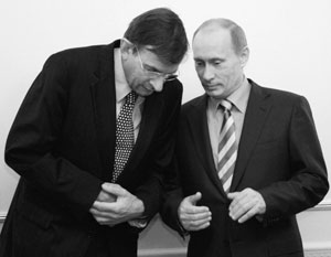 Йерун ван дер Вир и Владимир Путин действительно встречались, но будущий министр Зейлстра ждал завершения беседы в предбаннике