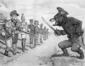 Расчеловечивание русских - давняя традиция англосаксов