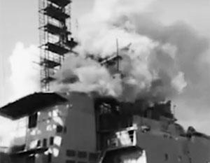 На большом противолодочном корабле Тихоокеанского флота произошел пожар