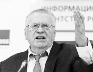 Жириновский заявил о сотнях погибших в Сирии «вагнеровцев»
