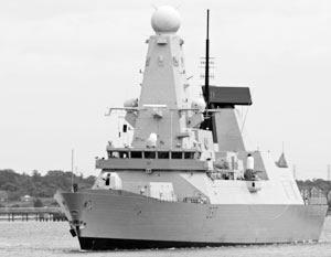 Британский эсминец покинул Черное море