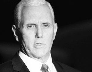 Пенс призвал «принять меры» против «вмешавшихся» в американские выборы
