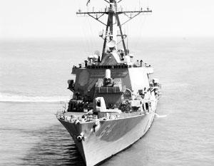 Второй эсминец США вошел в Черное море