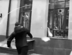 Неонацисты напали на здание Россотрудничества в Киеве